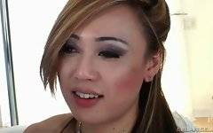 Katie St. Ives and Venus Lux are satisfies with hot love game.